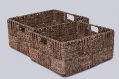 Úložný box KIM 41, vodní hyacint, natur, 2 ks