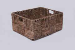 Úložný box KIM, 27/34/41, vodní hyacint, natur, 3 ks