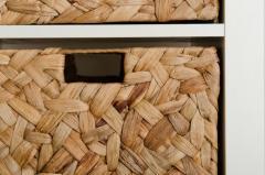Úložné boxy WILD, vodní hyacint, 32 cm, natur