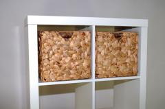 Úložné krabice vodní hyacint WILD DESIGN, přírodní barva, 2 ks