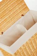 Elegantní truhla na prádlo GRAND, vrba, výška 60 cm, medová