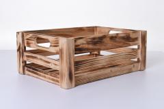 Úložné krabice YARA, dřevo, šířka 43 cm, natur, 2 ks