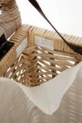 Prádelní koš ratanový, MIA, 70 cm, natur