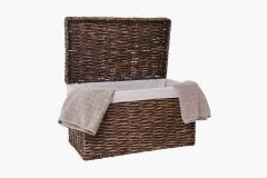Přírodní koš/truhla na prádlo WANDA
