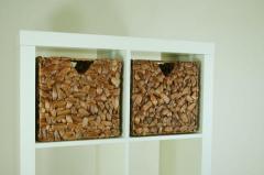 Úložné krabice vodní hyacint WILD DESIGN, hnědá barva, 2 ks